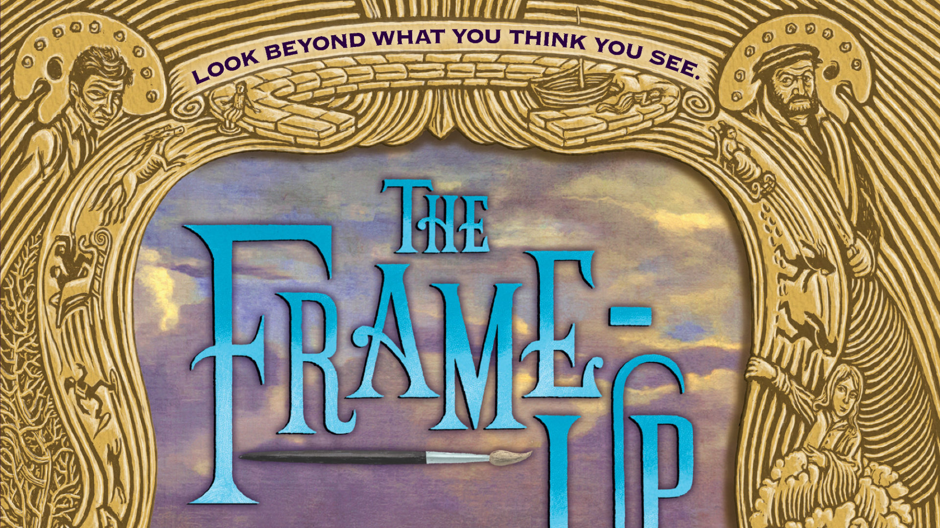 Audioguide du roman The Frame-Up